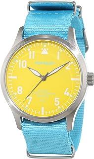 Pop-Pilot - P4260362630031 - Montre Mixte - Quartz - Analogique - Bracelet Nylon Bleu