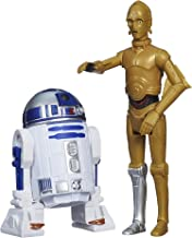 Star Wars Rebels, Mission Series, C-3PO and R2-D2 Action Figure Set, 3.75 Inches