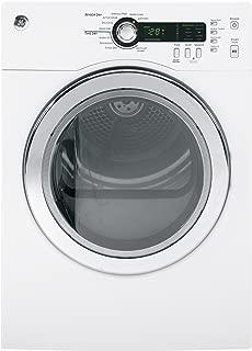 GE DCVH480EKWW 4.0 Cu. Ft. White Stackable Electric Dryer
