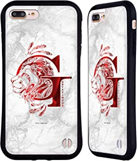 Official Harry Potter Gryffindor Aguamenti Deathly Hallows IX Hybrid Case Compatible for iPhone 7 Plus/iPhone 8 Plus