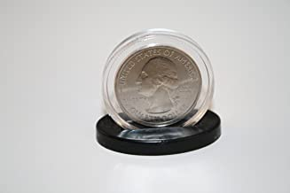 Single Coin DISPLAY STANDS for Half Dollar or Quarter Capsules (Quantity: 25)