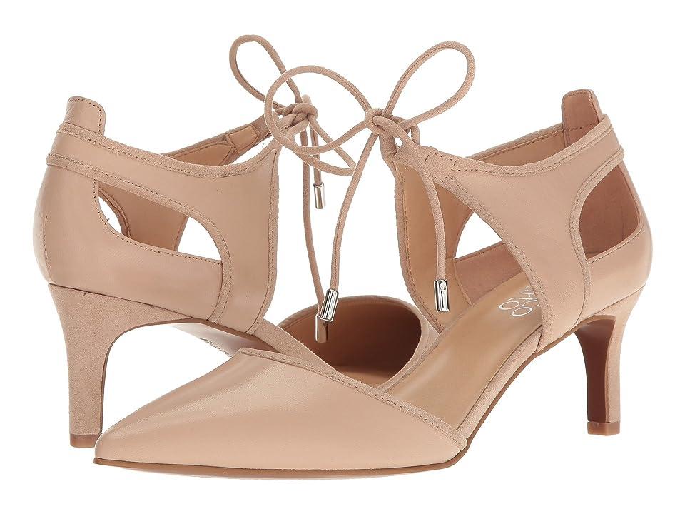 Franco Sarto Darlis (Beige Leather) High Heels