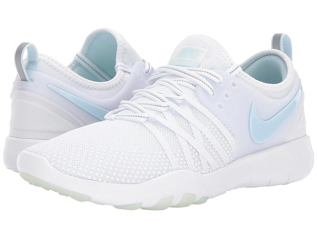 同行する薬局あえて(ナイキ) NIKE レディースランニングシューズ?スニーカー?靴 Free TR 7 Reflect White/Glacier Blue 10 (27cm) B - Medium