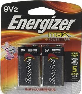 Energizer 4330205921 MAX Alkaline Batteries, 2 Count