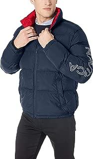 Men's Zip Front Artic Down Jacket
