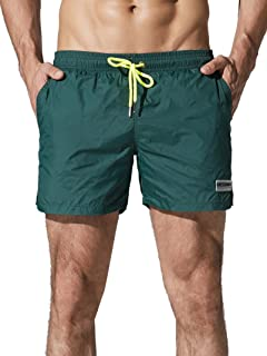Neleus Men's Dry Fit Performance Short with Pockets