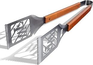 منتجات sportula 7019895Notre Dame Fighting Irish كلاسيكية sportula grill-a-tongs فيه أداة الشواء ، مع إطار فضي