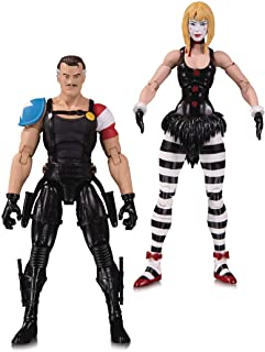 DC Collectibles Doomsday Clock: The Comedian/Marionette Action Figures (2 Pack)