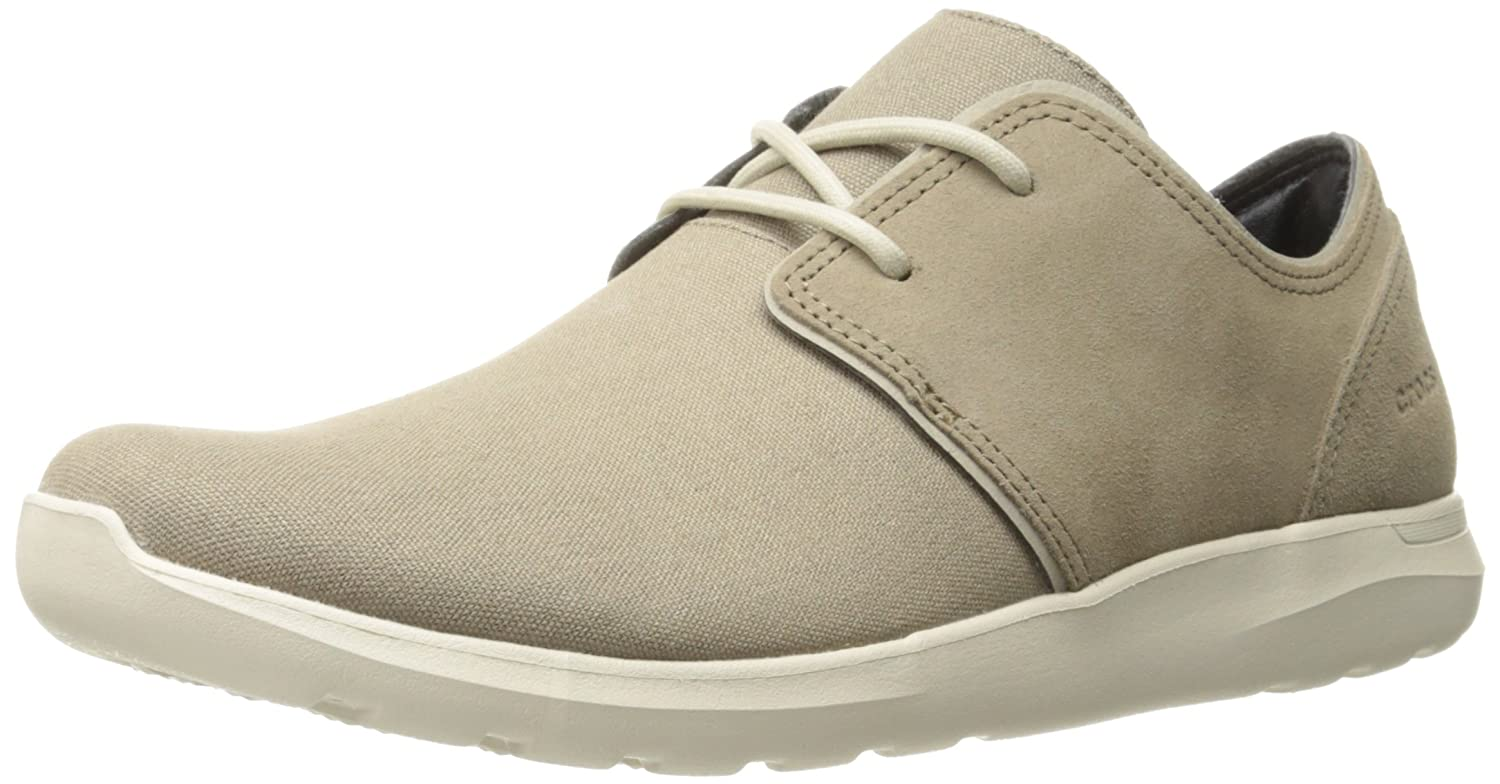 [クロックス] Kinsale eye Shoe men 204223 26P Khaki/Stucco (M11/29cm)