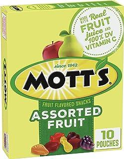 Mott's Original Fruit Flavored Snacks, 8 oz (10 Pouches)