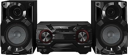 Panasonic SC-AKX200E Mini set 400W Negro - Microcadena (Home audio mini system, Negro, 400 W, De 2 vías, 4400 W, AM,FM)