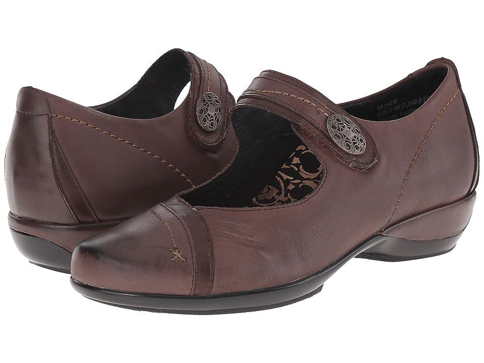 Image of Aetrex Brianna Mary Jane (Java) Women's Maryjane Shoes