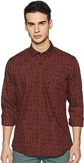 Louis Philippe Jeans Men's Printed Slim fit Casual Shirt