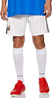 Adidas Weft knitted Real Madrid Home Sports Short for Men - Core White/Black (Manufacturer Size:X-Large) (DH3371)
