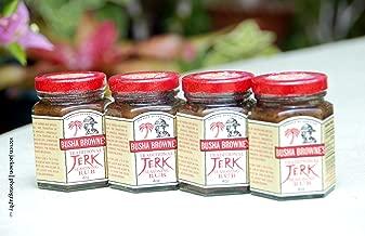 12 BOTTLES! Busha Browne's Traditional Jerk Seasoning Rub, 4oz.