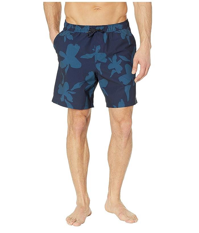Quiksilver Waterman Rapid Waikiki Nights Shorts (Parisian Night) Men