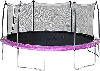 17' x15' Oval Trampoline and Enclosure Pad Color: Purple