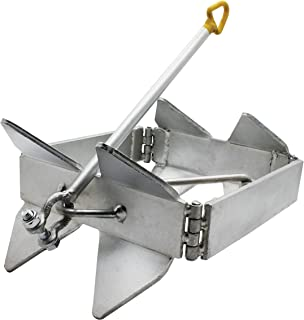 Extreme Max 3006.6652 BoatTector Zinc-Plated Cube Anchor (Box Style)