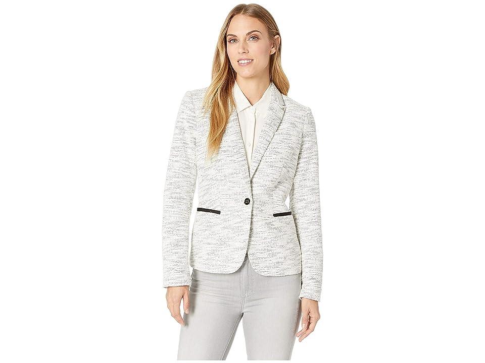 Tommy Hilfiger Sweatshirt Jacket (Ivory/Black) Women