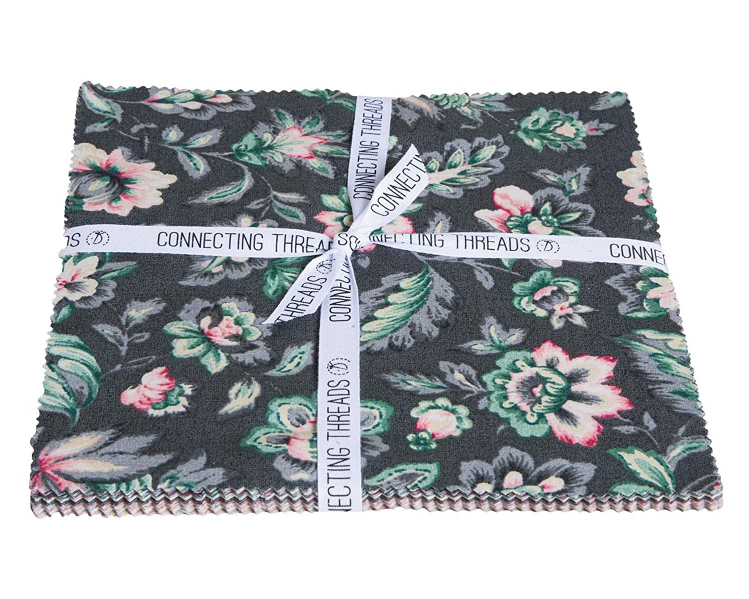 Connecting Threads Print Collection Precut Quilting Fabric Bundle (Jardin de Nicolette - 10