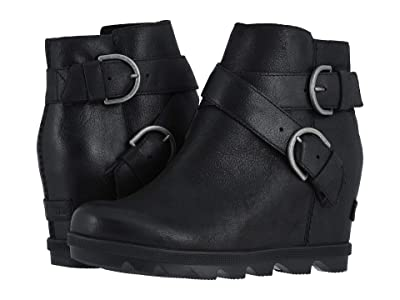 SOREL Joan of Arctic Wedge II Buckle (Black) Women