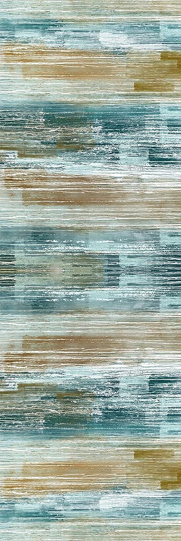 Long Under blast sales Carpet Credence Runner Kitchen Floor Mat 3.3' Abstract x 15' Runne