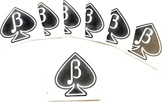 15 X BETA BOY MALE Jack of Spades Sissy Temporary Tattoos - Queen of Spades - Hotwife - BBC - Cuckold - Swinger - Cuckoldress.
