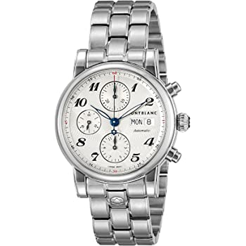 [モンブラン] 腕時計 STAR シルバー文字盤 自動巻き 106468 メンズ 並行輸入品 シルバー