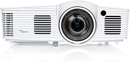 Optoma EH200ST Full 3D 1080p 3000 Lumen DLP Short Throw Projector with 20,000:1 Contrast Ratio and MHL Enabled HDMI Port (Renewed)