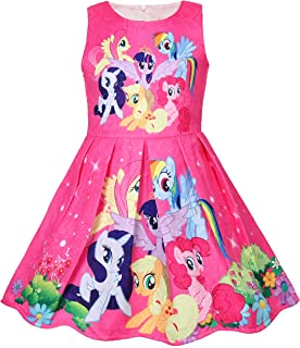 Crazy Gotend Toddler Girls Sleeveless Princess Dress Casual Party Dresses(18M-7Y)