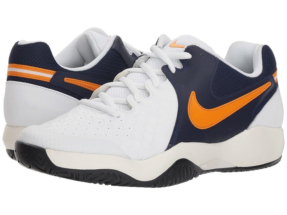 Nike Air Zoom Resistance (White/Orange Peel/Blackened Blue/Phantom) Men