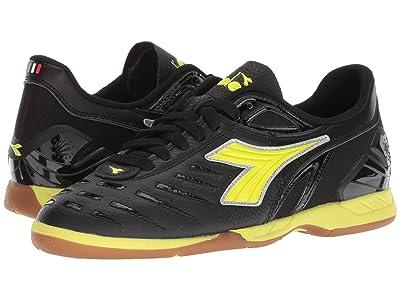 Diadora Maracana 18 W ID (Black/Fluo Yellow) Women