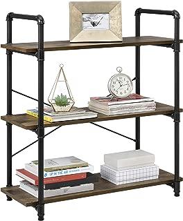 Ameriwood Home Carter 3 Shelf Bookcase, Rustic