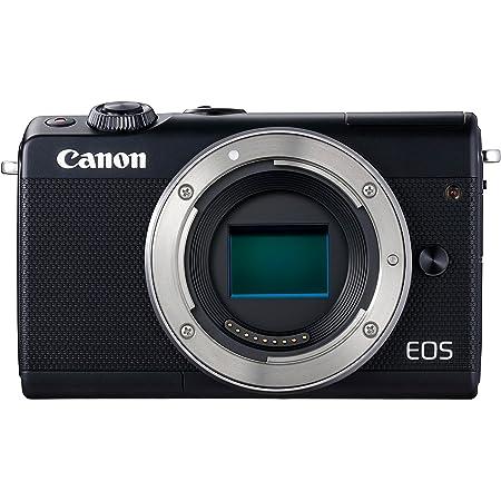 Canon Eos M100 Gehäuse Systemkamera 3 Zoll Schwarz Kamera