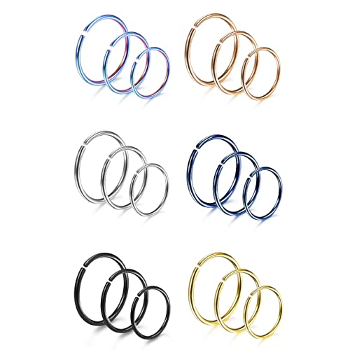 Cute Nose Ring Sets Amazon Com