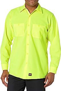 Red Kap Men's RK Enhanced Visibility Work Shirt