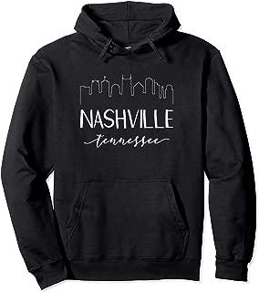 Nashville Tennessee Hoodie - State Calligraphy Sweatshirt