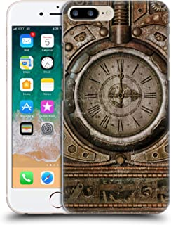 Official Simone Gatterwe Grunge Clock Steampunk Hard Back Case Compatible for iPhone 7 Plus/iPhone 8 Plus