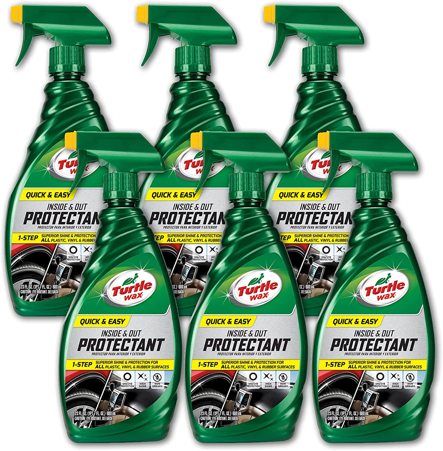 Turtle Wax 50655-6PK Sale SALE% OFF Opening large release sale Quick and Easy Protectant oz Out 23 Inside