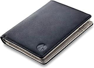 Portafoglio uomo e-GALE - Con Protezione RFID - Elegante e Compatto - Tanti Scomparti per Tessere, Banconote, Monete, Cart...