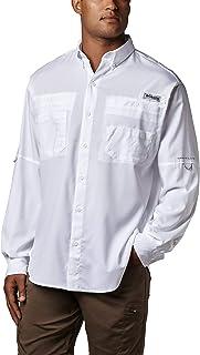 Mens PFG Tamiami Ii Long Sleeve UPF Shirt
