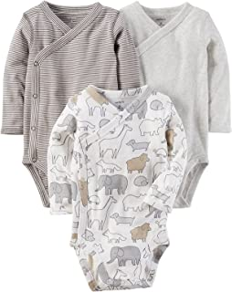 Carter's Baby 3-Pack Side Snap Printed Bodysuits
