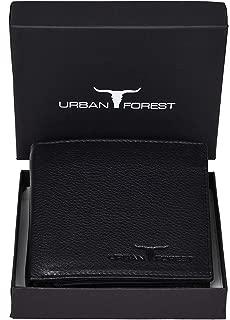 Urban Forest Kevin Black Leather Men's Wallet