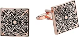 Stacy Adams - Square Ornate Cuff Link