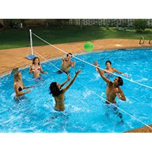 Poolmaster Across In Ground Swimming Pool Volleyball Pool Game Toys Games