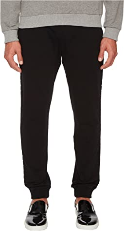 Versace Jeans Sweatpants with Metal Accents