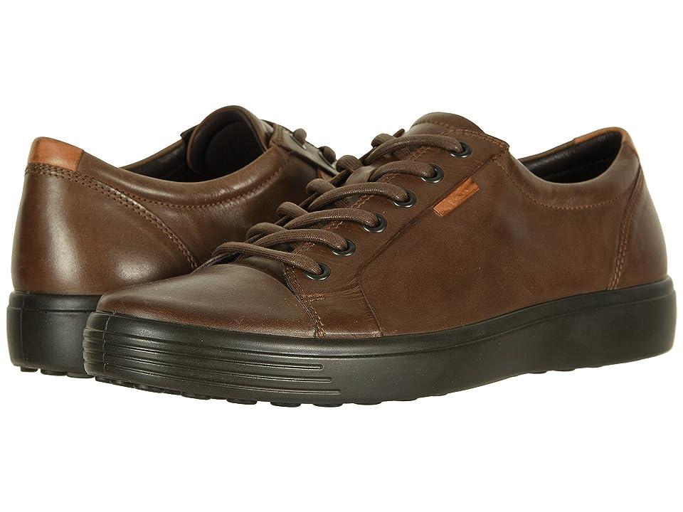 ECCO Soft 7 Sneaker (Cocoa Brown) Men