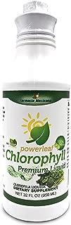 Chlorophyll Powerleaf Premium Liquid 32 oz - 100% Liquid Extract - Clorofila Liquida