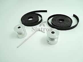 [Sintron] 2M Timing Belt Set + 2 pcs GT2 20 Tooth 5mm Bore Pulleys for RepRap 3D Printer Prusa Mendel i3 Kossel Delta ect.