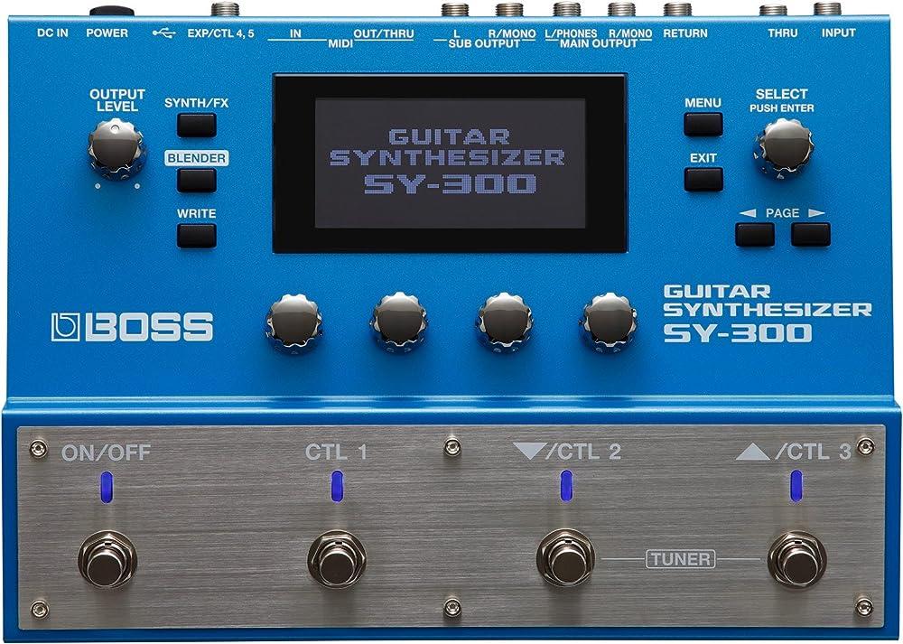 リンク:SY-300 Guitar Synthesizer